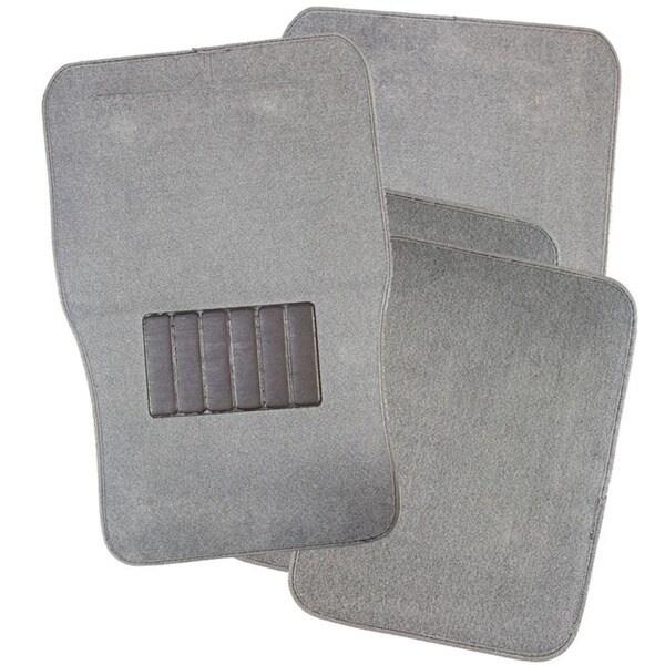 Shop Oxgord Grey Car Floor Mats Set Of 4 Free Shipping