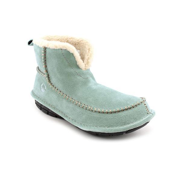 Crocs Women's 'Croccasin Boot' Regular Suede Boots (Size 6)
