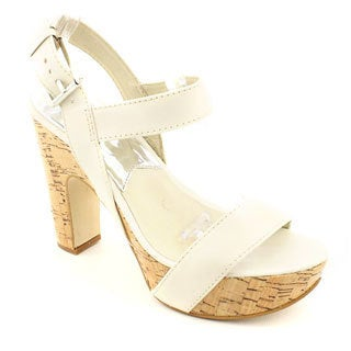 Michael Kors Women's 'Ivana Sandal' Leather Sandals