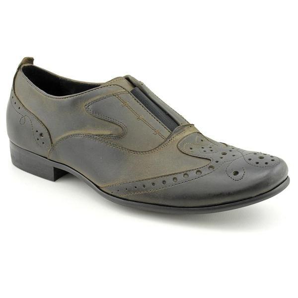 Robert Wayne Men's 'Tauren' Leather Dress Shoes (Size 8)