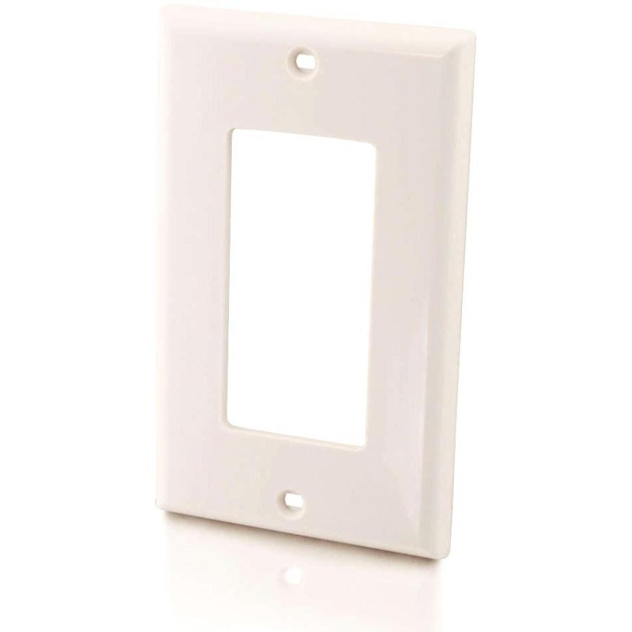 Cables to Go C2G Decorative Style Single Gang Wall Plate ...