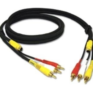 C2G 6ft Value Series 4-in-1 RCA + S-Video Cable
