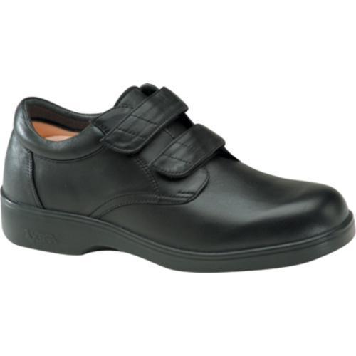 Men's Apex Ambulator Conform Double Strap Black Smooth Leather