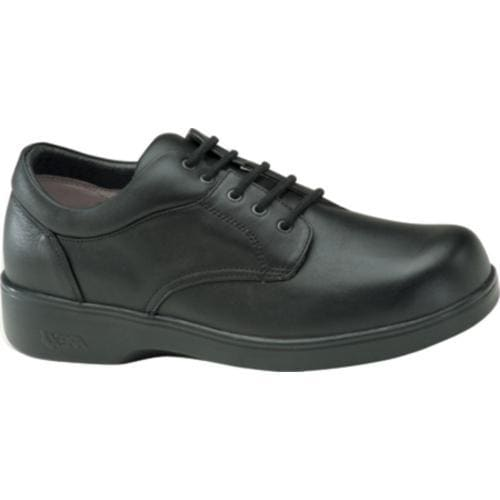 Men's Apex Ambular Biomechanical Oxford Black Smooth Leather