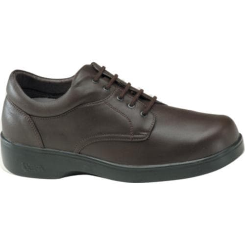 Men's Apex Ambular Biomechanical Oxford Brown Smooth Leather