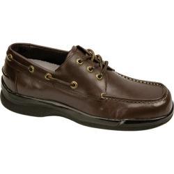 Men's Apex Ambulator Biomechanical Boat Shoe Brown Leather
