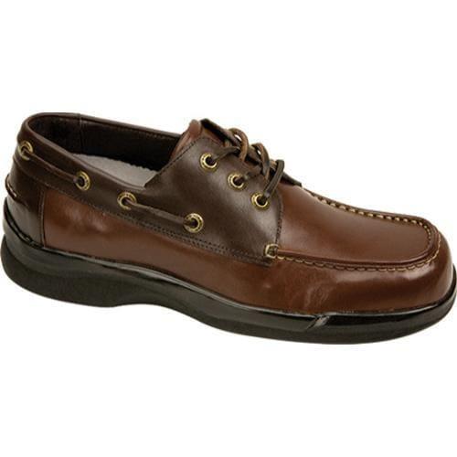 Men's Apex Ambulator Biomechanical Boat Shoe Two Tone Leather