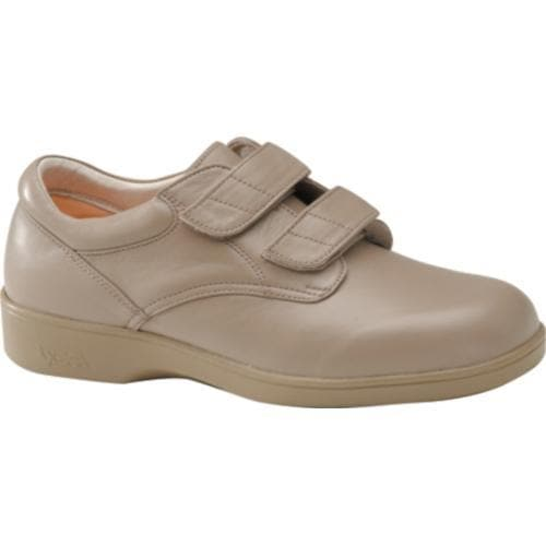 Women's Apex Ambulator Conform Double Strap Taupe Leather