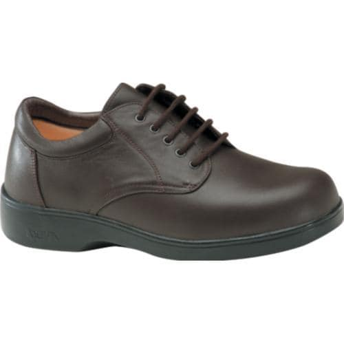 Men's Apex Ambulator Conform Oxford Brown Smooth Leather