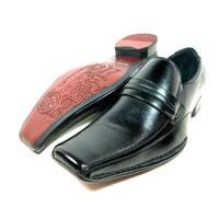 Delli Aldo Men's Leatherette Slip-on Loafer Dress Shoes