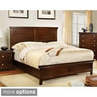 Furniture of America Tranzio Natural Queen-size Bed