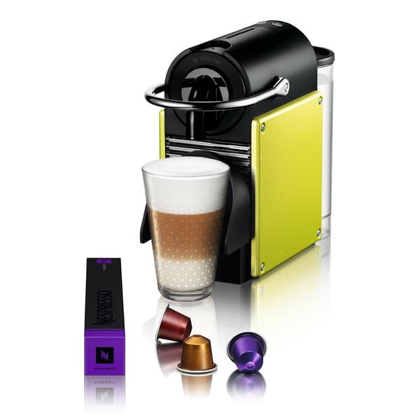 Nespresso D60 Pixie Electric Lime Espresso Maker (Refurbished)