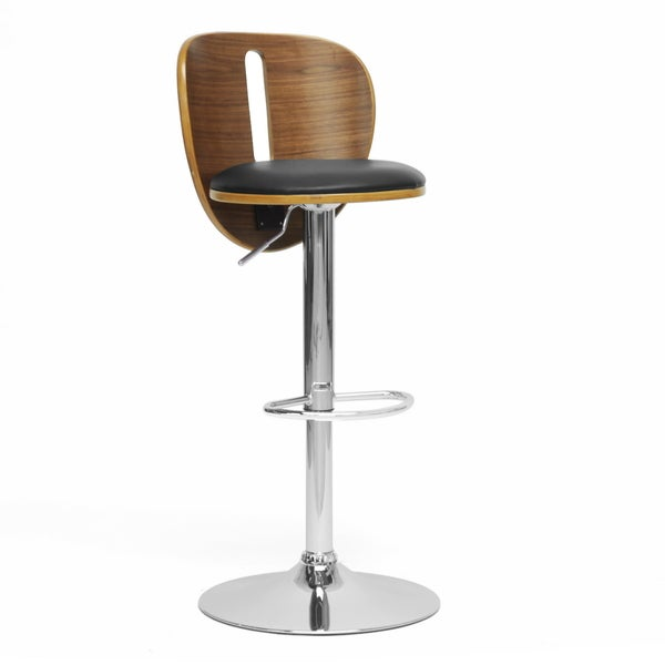Baxton Studio Athens Black Modern Bar Stool Free