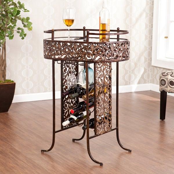 Harper Blvd Cremona Wine Storage Table
