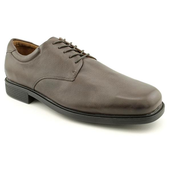 Rockport Men's 'Carnforth' Leather Dress Shoes - Wide (Size 16)