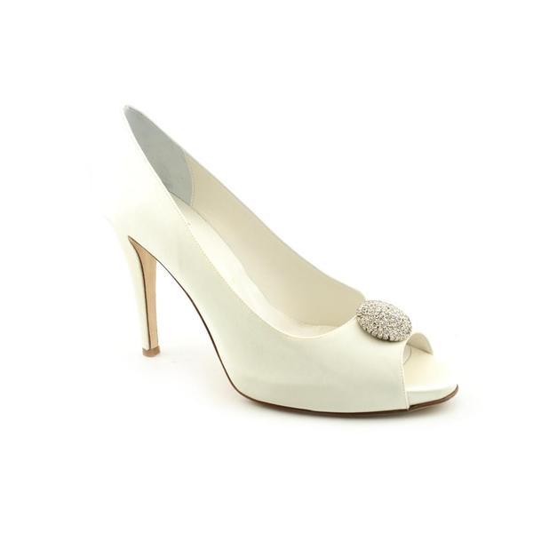 Bridal by Butter Women's 'Celeste' Satin Dress Shoes (Size 10.5)