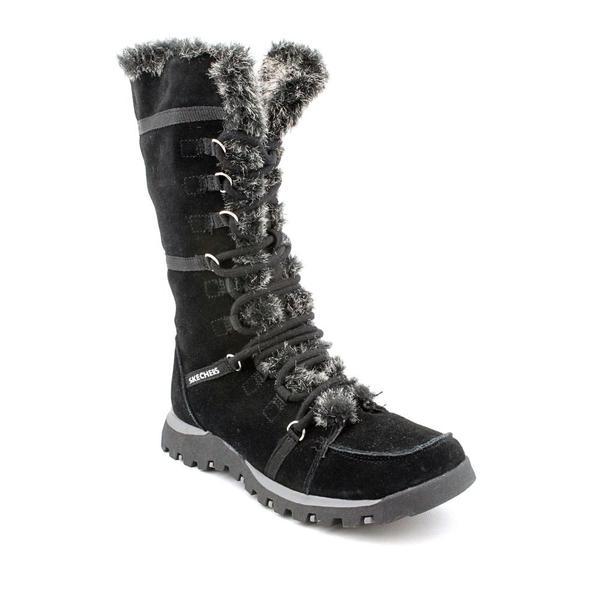 Skechers Australia Women's 'Grand Jams - Unlimited' Leather Boots (Size 5.5)