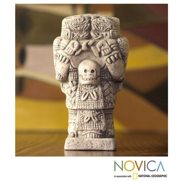 Handmade Ceramic 'Little Serpent Skirt' Figurine (Mexico)