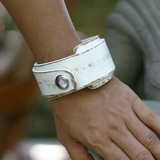 Handmade Leather 'Ice Explorer' Wrap Bracelet (Indonesia)
