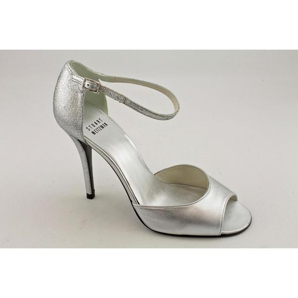 Stuart Weitzman Women's 'Glitswanky' Satin Dress Shoes (Size 7.5)