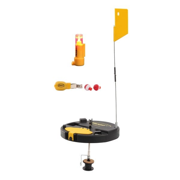 Frabill Pro Thermal Insulated Round Tip-Up with Extendable Flag