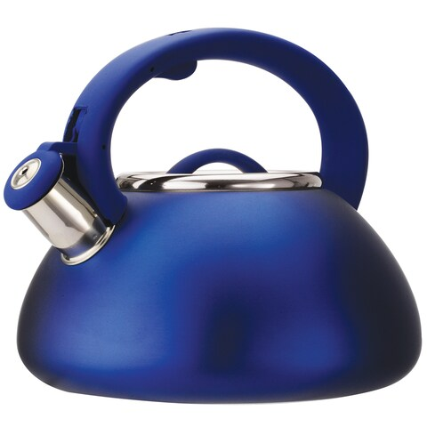 Whistling Matte Blue Kettle
