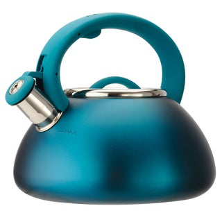Whistling Matte Teal Kettle