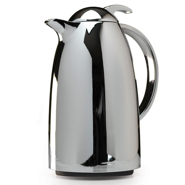 Epoca Chrome 34-ounce Thermal Carafe - Free Shipping On Orders Over USD 45 - Overstock.com - 15139653