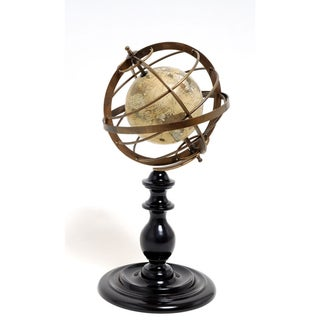 Old Modern Handicrafts Globe with Armillary Sphere