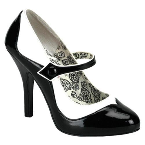 530181960c0062 Shop Women s Bordello Tempt 07 Black White PU - Free Shipping Today - -  7740412