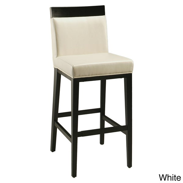 Elloise White or Grey 30-inch Bar Stool