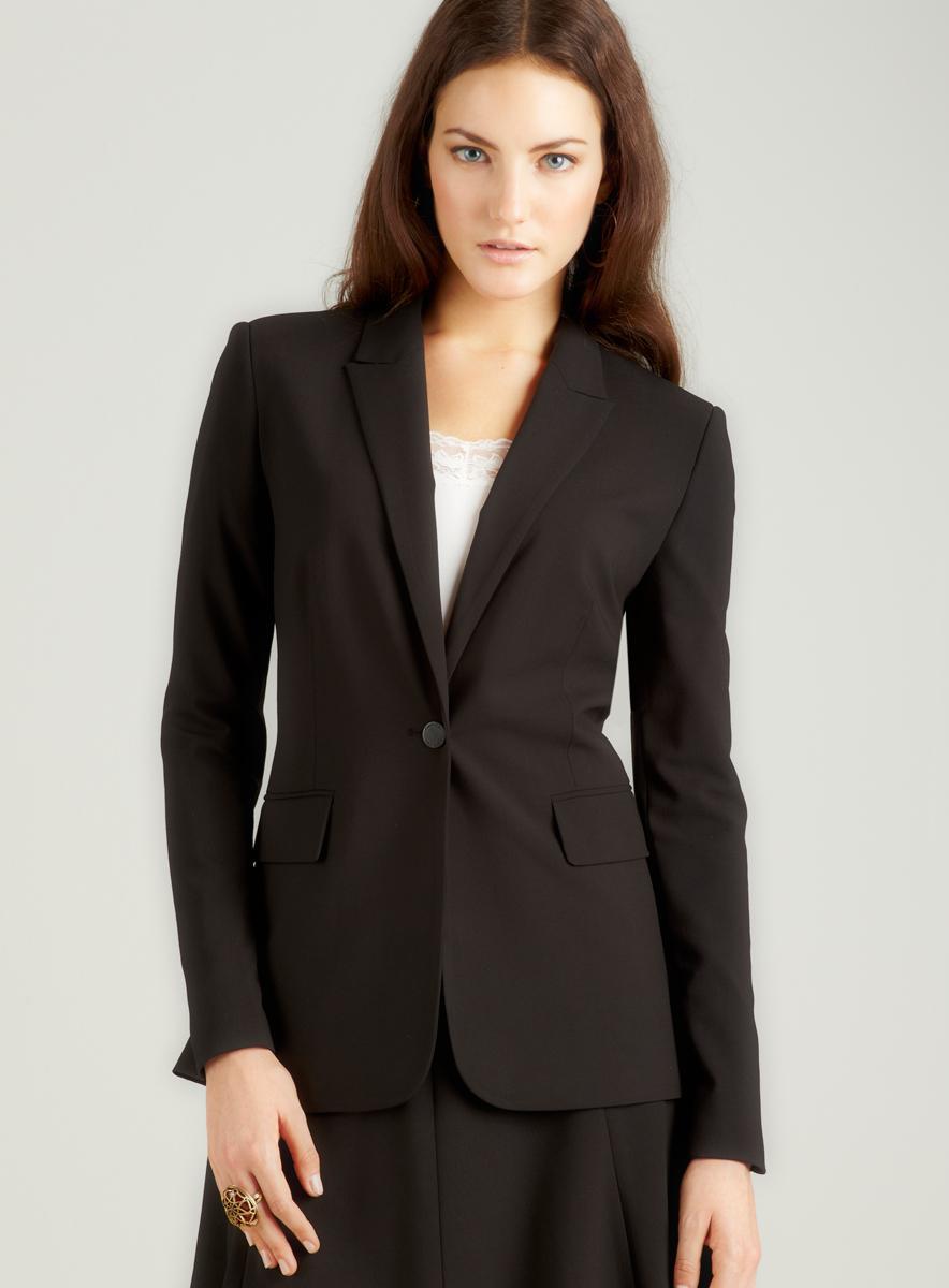 Calvin Klein Black Single Buton Jacket