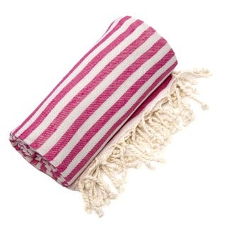 Authentic Pestamal Fouta Pink Turkish Cotton Bath/ Beach Towel