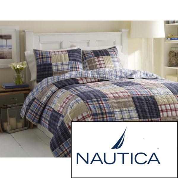 Nautica Chatham Cotton Reversible Quilt