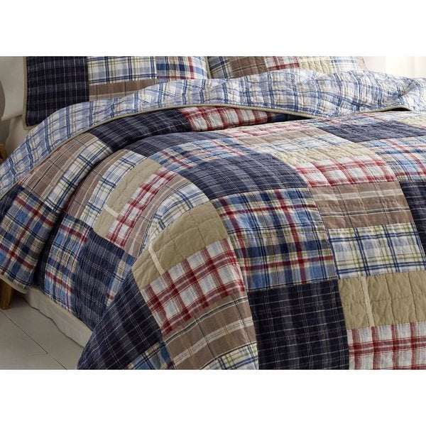 Nautica Chatham Cotton Reversible Quilt - Free Shipping On Orders ... : chatham quilt by nautica - Adamdwight.com