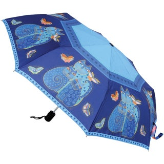 Laurel Burch Cats Compact 42-inch Umbrella