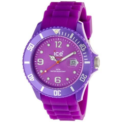 Ice Watch Men's 'Sili Forever' Purple Watch