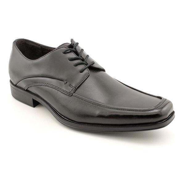 Robert Wayne Men's 'Dhom' Leather Dress Shoes - Wide