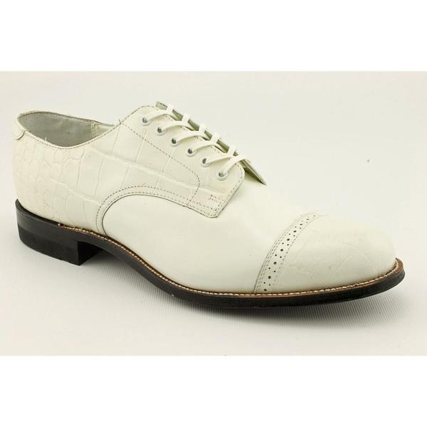 Stacy Adams Men's 'Madison Oxford' Leather Dress Shoes (Size 8.5)
