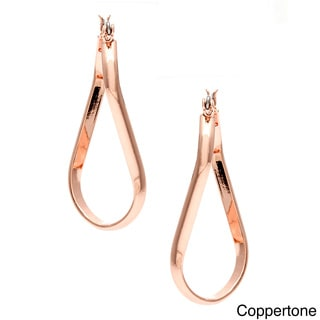 Alexa Starr Twisted Oval Earrings