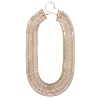 Alexa Starr Two-tone Six-row Necklace