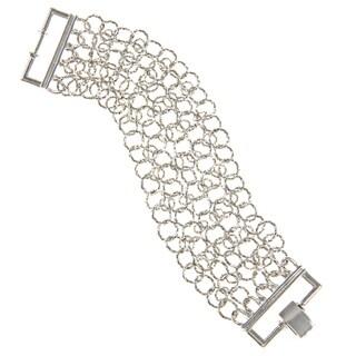 Alexa Starr Silvertone Chain Link Bracelet