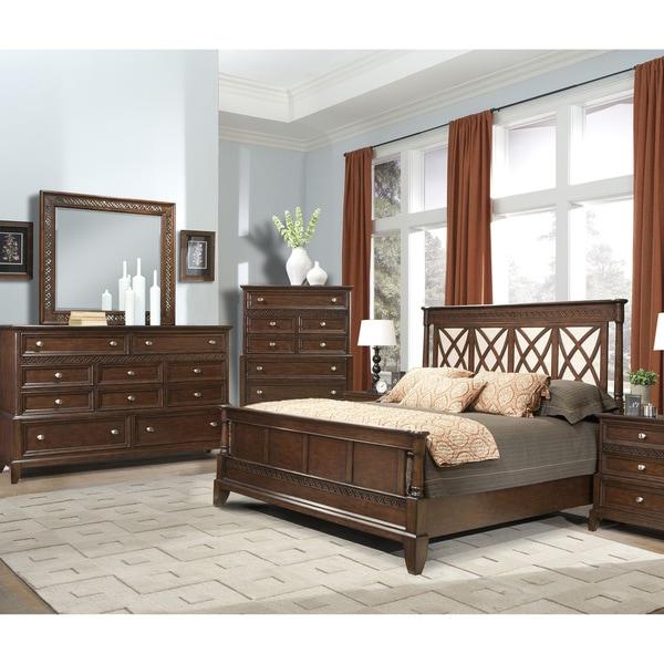 Vaughan Jackson Square 3 Piece Queen Bedroom Set