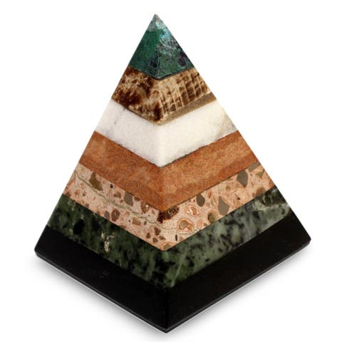 Gemstone Empowered Pyramid
