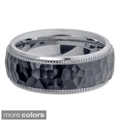 Titanium Men's Colored Ion-plated Ring