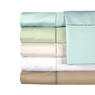 Grand Luxe Egyptian Cotton Sateen Bellisimo Deep Pocket 300 Thread Count Sheet Set