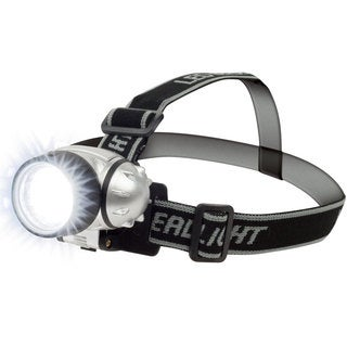 Stalwart 7 LED Headlamp with Adjustable Strap