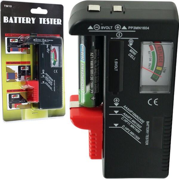Stalwart Multi-battery Tester