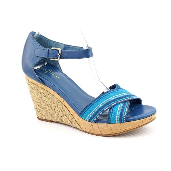 Cole Haan Women's 'Air Tamsyn' Blue Synthetic Sandals