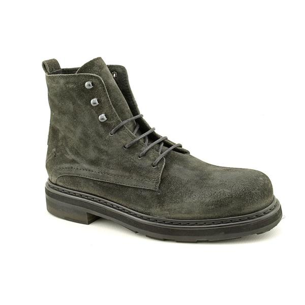 Costume National Men's 'Lace-Up' Regular Suede Boots (Size 5.5)